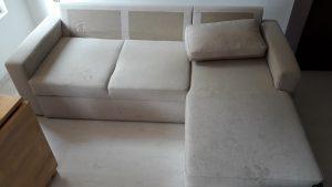 3 често срещани грешки при почистване на мека мебел в домашни условия