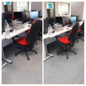 Професионално почистване на офиси – два основни етапа