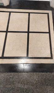 Почистване на мозайка в баня – защо го правим с ротаторна машина