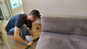Почистване на диван с парочистачка – комплексно решение за всяка тапицерия